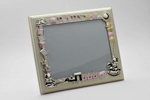 PF1102 - Baby Shower Gifts Silver Photo Frame