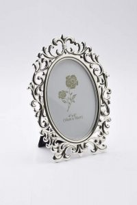 PF1105 - Elegant Silver Plated Photo Frame Ideal for Wedding Gifts, House Warming Gift