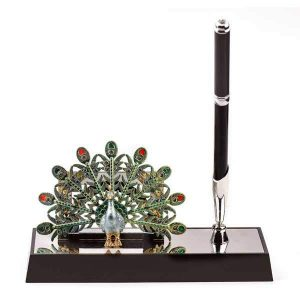 Peacock Pen Stand