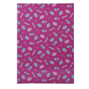 A4 Size School Notebook - Pink
