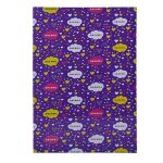 A4 Size School Notebook - Purple