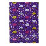A4 Size School Notebook - Purple