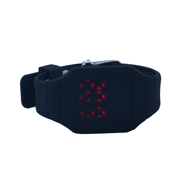 Stylish Black Led Wrist Watch For Kids Boys Girls Ideal Birthday Return Gifts