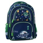 Soccer Football Design Navy Blue School Bag for Pre-School / Nursery / Play School / Kindergarten. Kid's Age Group (3 to 6 years) Childrens Waterproof School Bag
