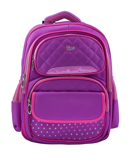 Purple School Bag for Pre-School / Nursery / Play School / Kindergarten. Kid's Age Group (3 to 6 years) Childrens Waterproof School Bag for Boys & Girls