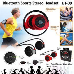 Bluetooth Sports Stereo Headset BT-09