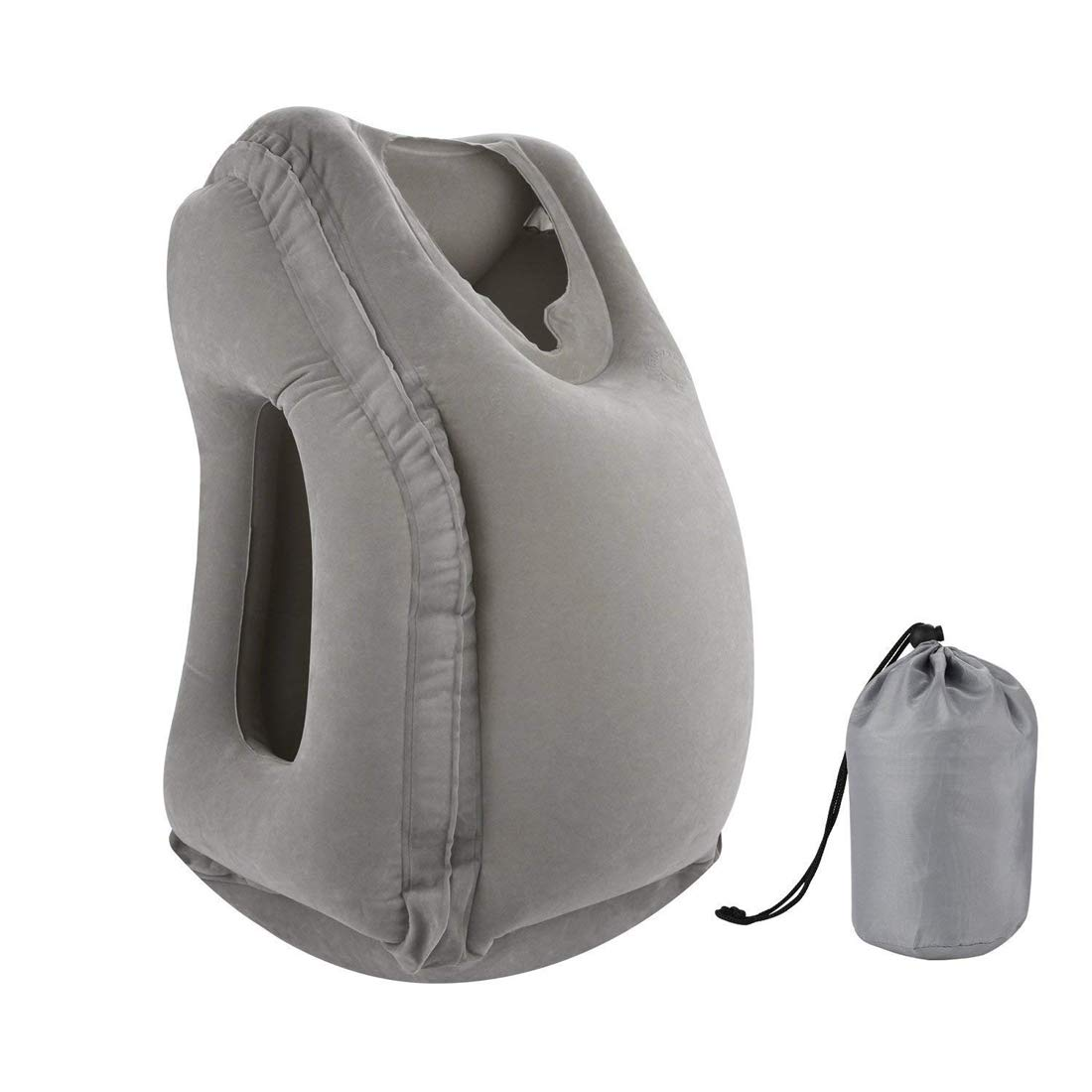 Multifunctional Inflatable Travel Pillow Large Neck Pillow with Full Body and Head Support