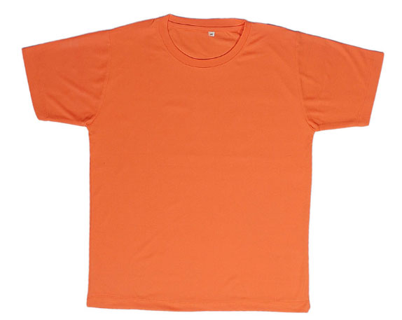 Round Neck Promotional Tshirt - Orange