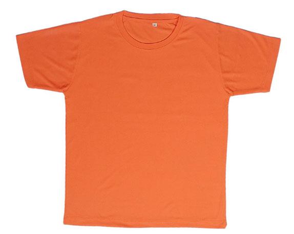 Round Neck Promotional Tshirt - Orange