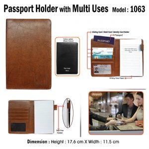 Passport Holder with Multi Use 1063