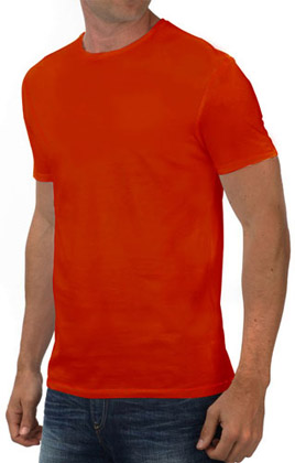 Round Neck Promotional Tshirt - Red-2
