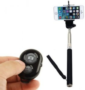Selfie Stick with Zoom Remote - Bluetooth Monopod