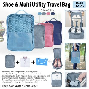 Shoes & Multi Utility Travel Bag H-15121