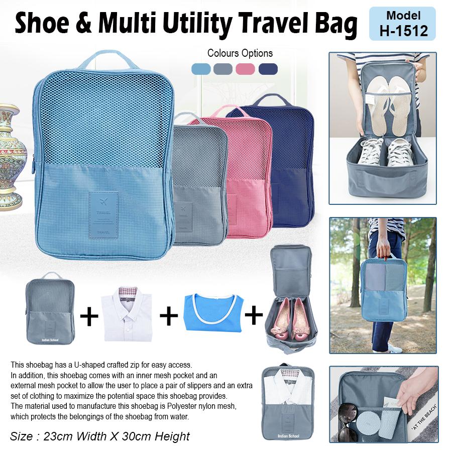 Shoes & Multi Utility Travel Bag H-15121