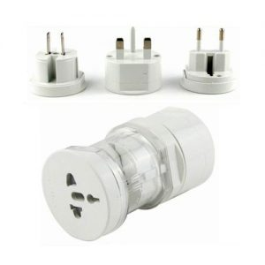 Travel Adapter A White