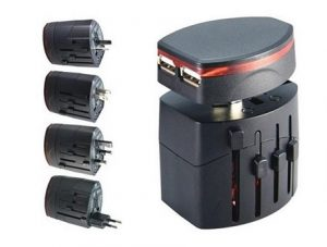 Travel Adapter D with USB