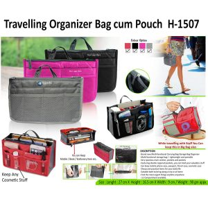 Travelling Bag cum Pouch H-1507