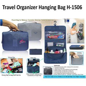 Travel Hanging Bag cum Pouch H-1506