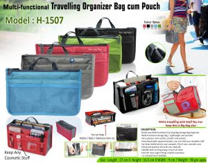 Travelling Organizer Bag cum Pouch H-1507