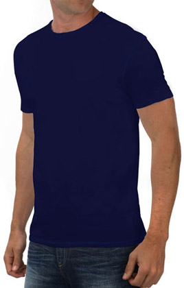 Round Neck Promotional Tshirt - True Navy