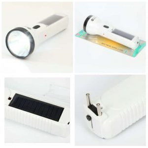Solar Torch Chargeable