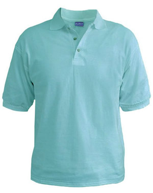 Polo T-Shirt - Aqua
