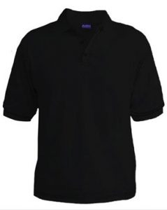 Polo T-Shirt - Black