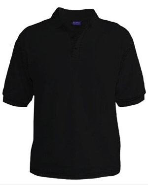 Polo T-Shirt - Black
