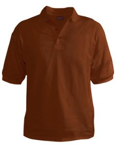 Polo T-Shirt - Chestnut Brown
