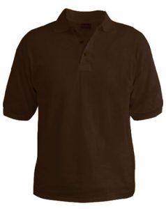 Polo T-Shirt - Cocoa Brown