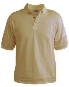 Polo T-Shirt - Desert Sand