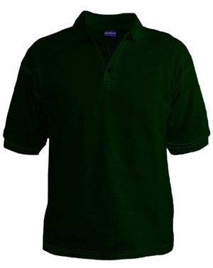 Polo T-Shirt - Hunter Green