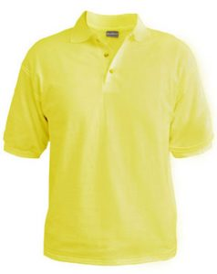 Polo T-Shirt - Lemon