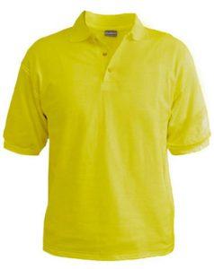 Polo T-Shirt - Lime Green