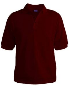 Polo T-Shirt - Maroon