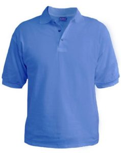 Polo T-Shirt - Sky Blue