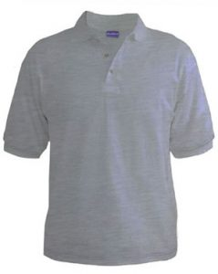 Polo T-Shirt - White Heather
