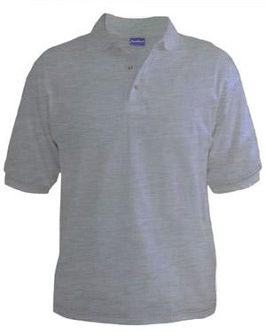 Polo T-Shirt - White Heather