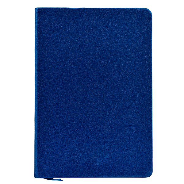 Blue Glitter Cover A5 Notebook Diary