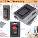 2pcs gift Set Diary Pen H-907