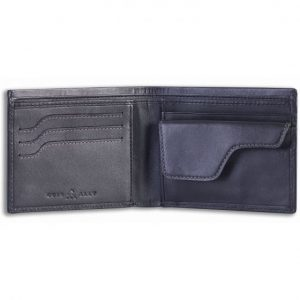 Cuir Ally Explorer Smart Wallet - Black
