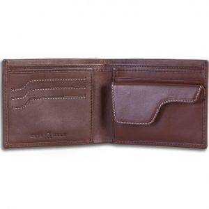 Cuir Ally Explorer Smart Wallet - Brown