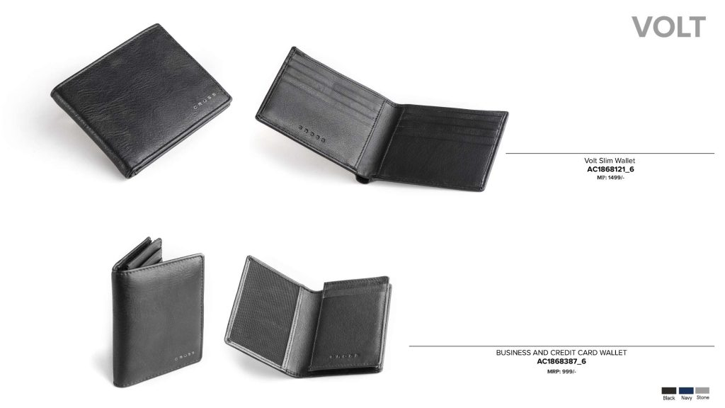 CROSS Volt Leather Wallet Card Holder