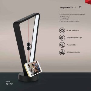 Asymmetrix s - Lamp with Bluetooth Speaker