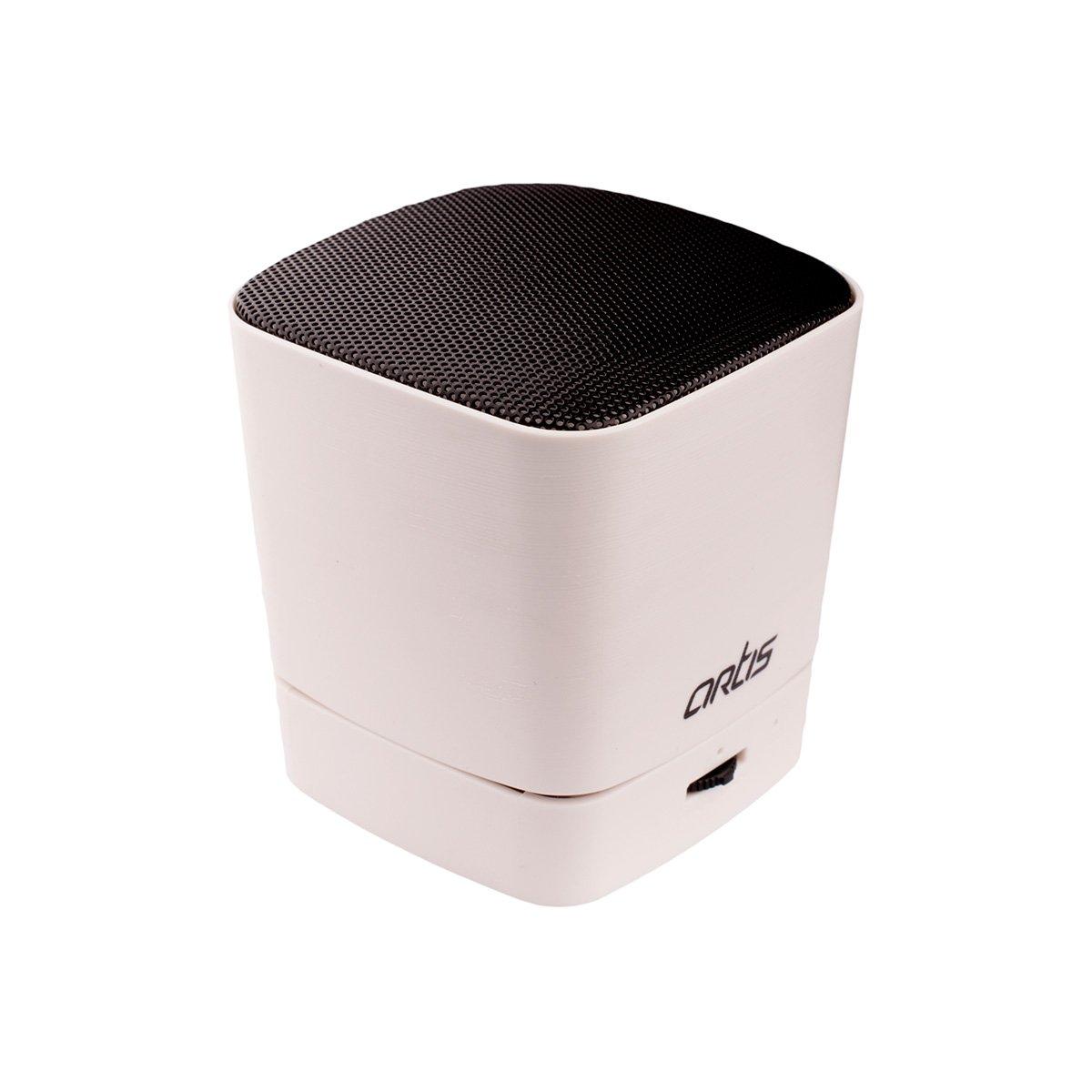 Artis BT09 Wireless Portable Bluetooth Speaker White