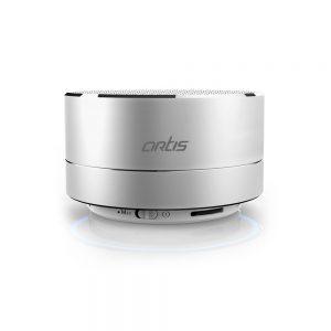 Artis BT14 Wireless Portable Bluetooth Speaker with FM - Silver