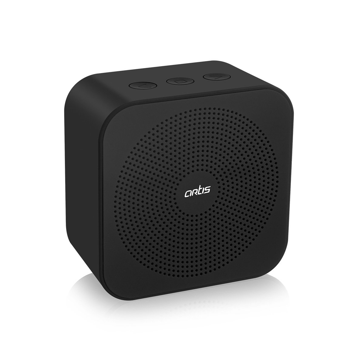 Artis BT15 Wireless Portable Bluetooth Speaker with Aux Input - Black