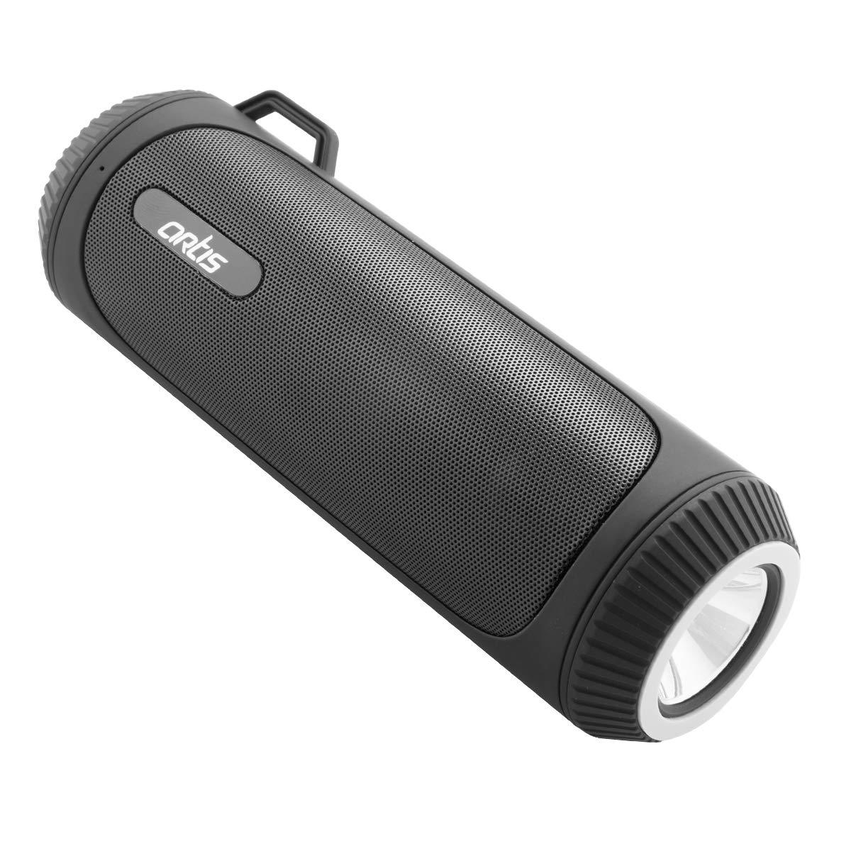 Artis BT22 Portable Wireless Bluetooth Speaker with LED Flash Light