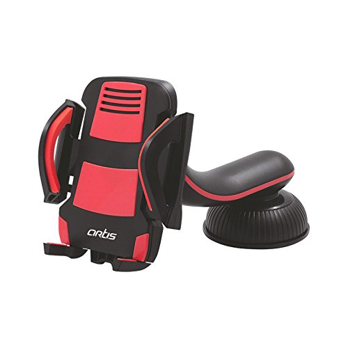 Artis M300 Universal Mobilephone Smartphone Car Mount Holder (Red)