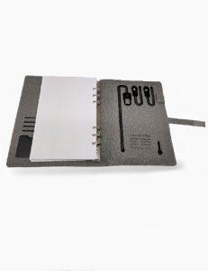 JDPB10000 - Jute Diary Powerbank 10000 mah